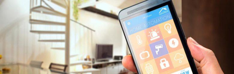 La climatización domótica en casa te permite controlar la temperatura del hogar desde el móvil.