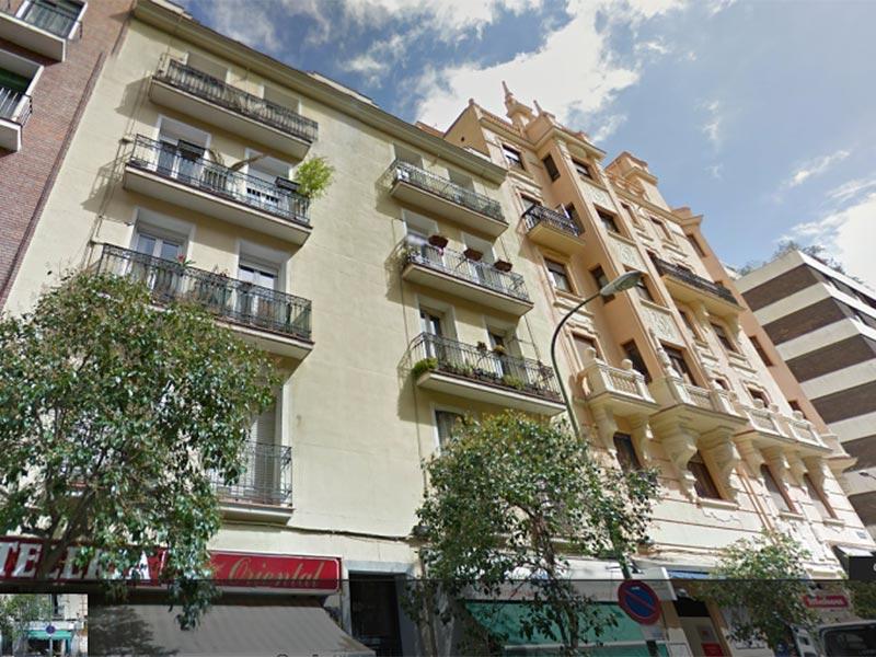 Edificio viviendas Moncloa