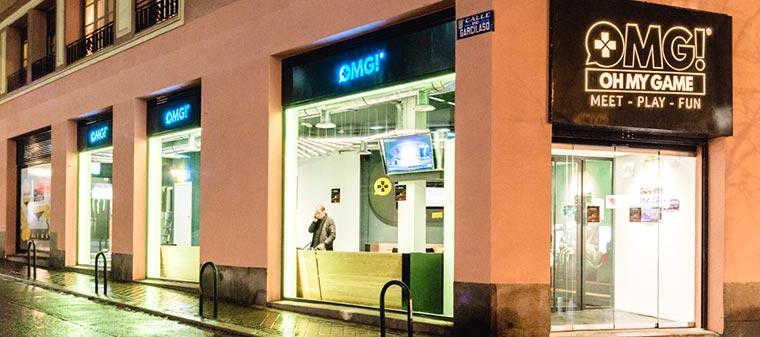 Una de las reformas de locales comerciales realizadas por Kubo en la calle Luchana de Madrid.
