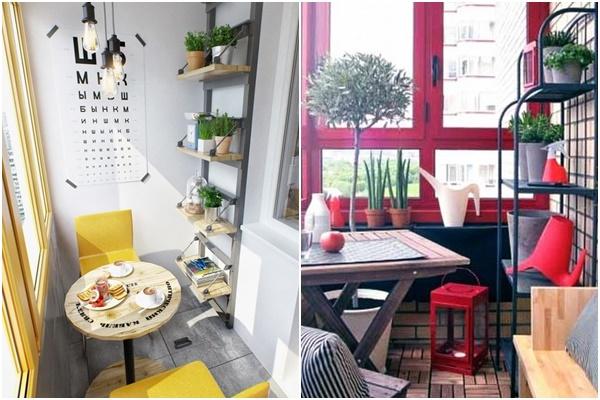 Reforma de pisos con cerramiento de terrazas en carpintería bicolor, respetando fachada exteriormente.