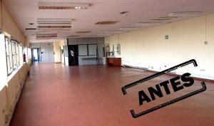 Reforma de oficinas en Madrid: una nave industrial en Pinto, Madrid, antes