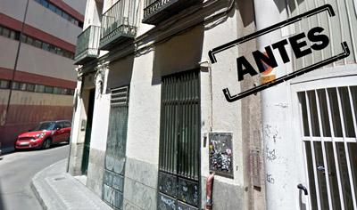 Antes de la obra de la Reforma integral de un piso de 50 m2 en Madrid centro