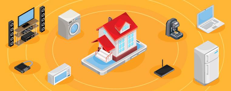 Equipo de control en la reforma integral de una vivienda con domótica.
