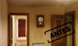 Reforma integral de un piso en Arganzuela Madrid, antes