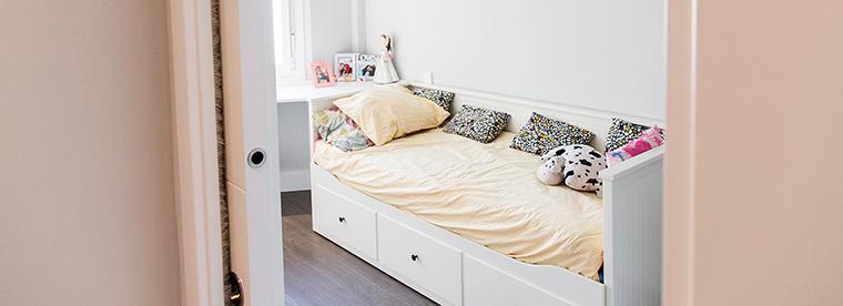 En las reformas de pisos pequeños se gana espacio instalando puertas correderas