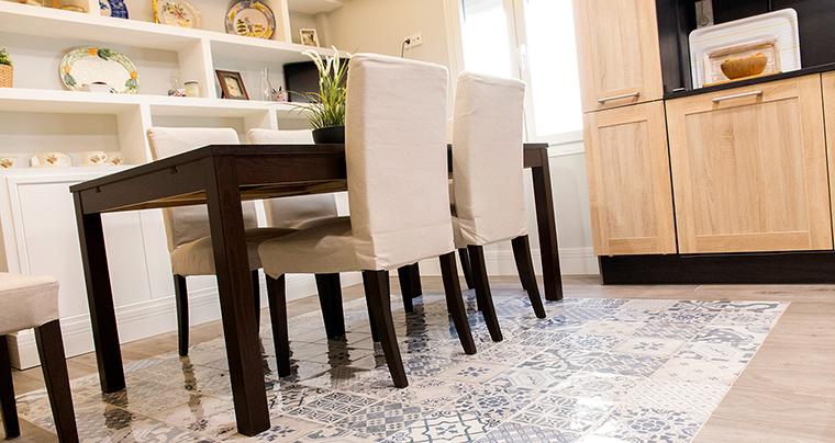 Aprende cómo delimitar los espacios en las reformas de pisos pequeños diáfanos