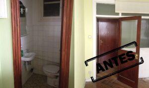 Reformas de pisos antiguos en el centro de Madrid: un estudio en la calle Desengaño, antes