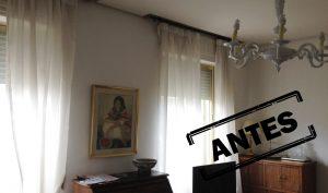 Reforma de vivienda en Madrid zona Puerta de Toledo, antes