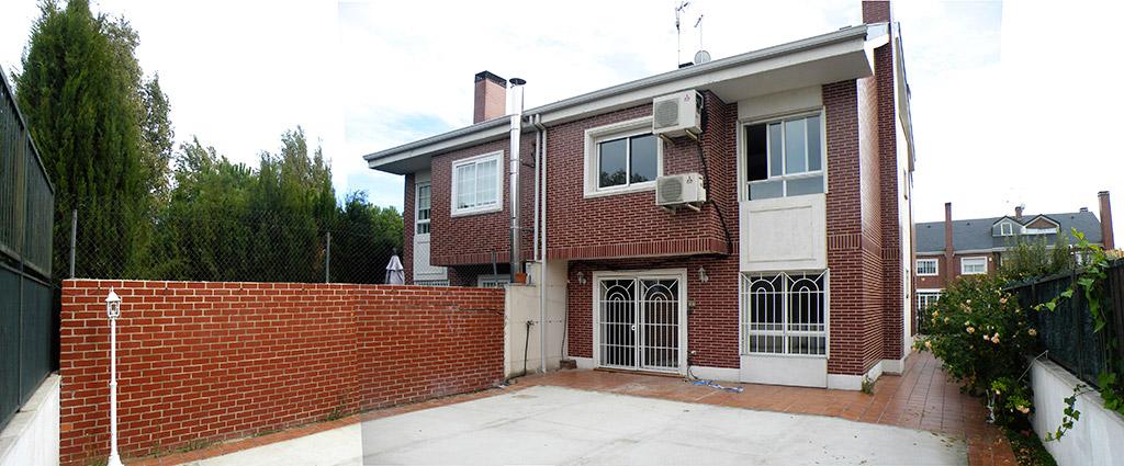 Antes de la reforma: uno de nuestros proyectos de reformas de casas unifamiliares en Madrid.